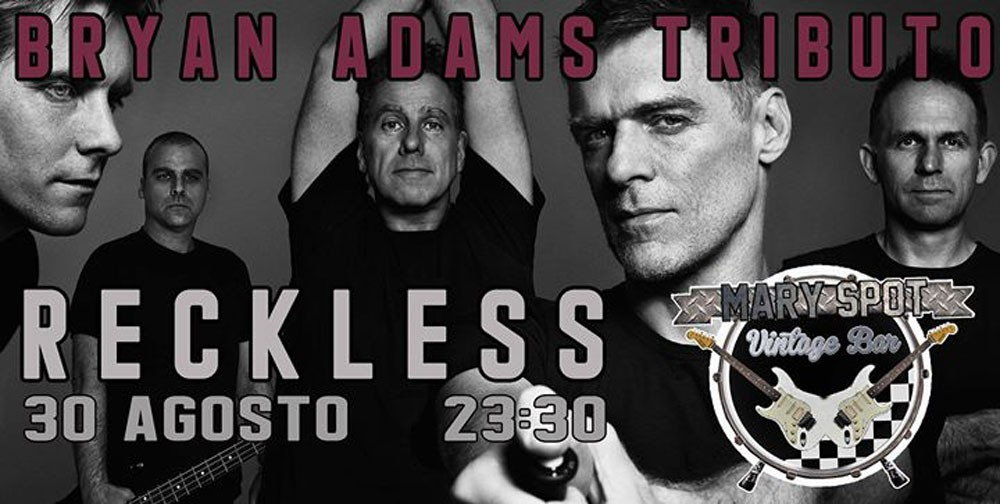Photo of Bryan Adams tribute by Reckless 🗓 🗺