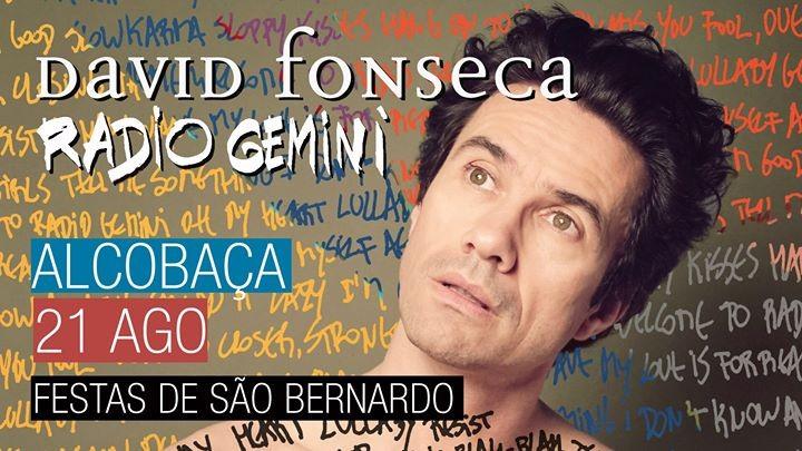 Photo of David Fonseca – Festas de São Bernardo