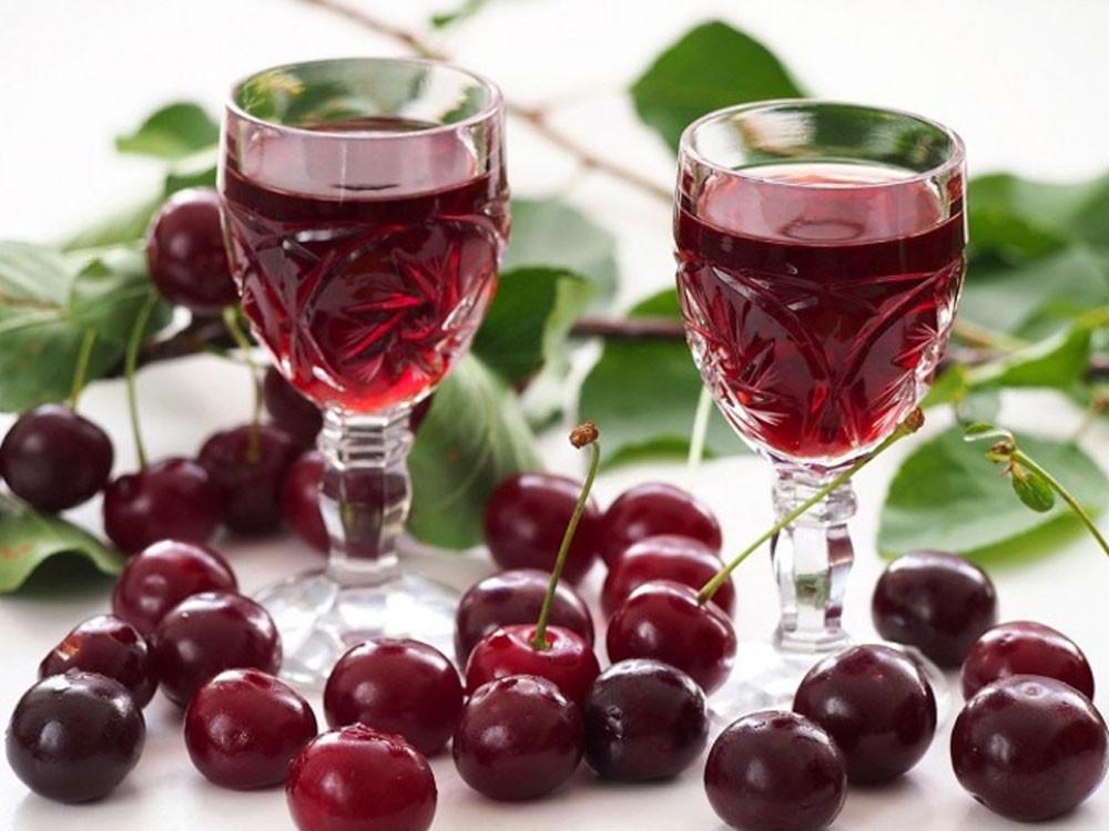 Photo of Homemade Cherry Liqueur