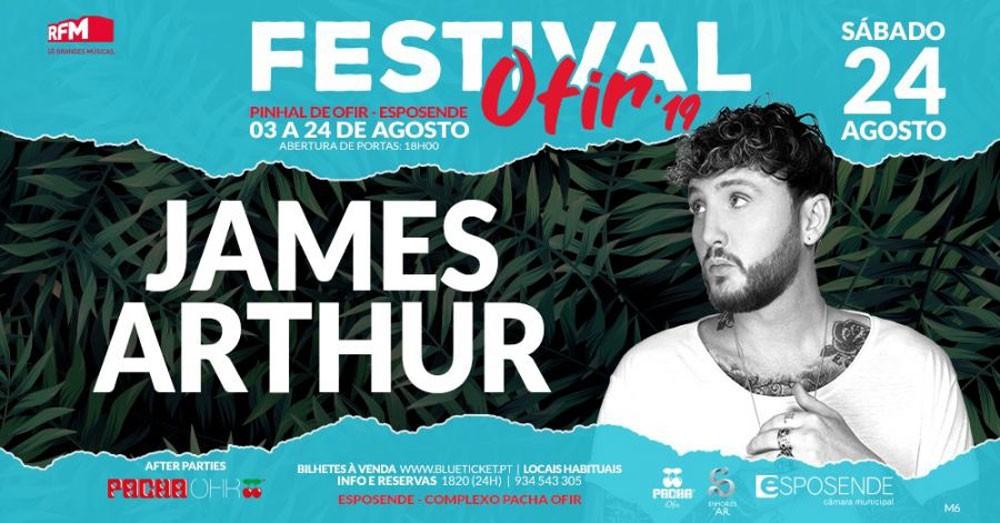 Photo of Festival Ofir – James Arthur