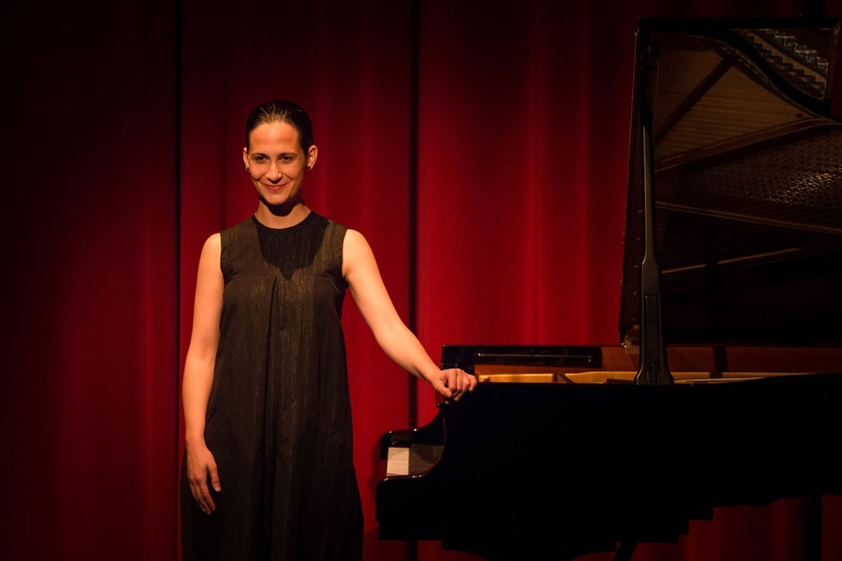 Photo of Pianist Joana Gama performs at Fringe Festival in Scotland
