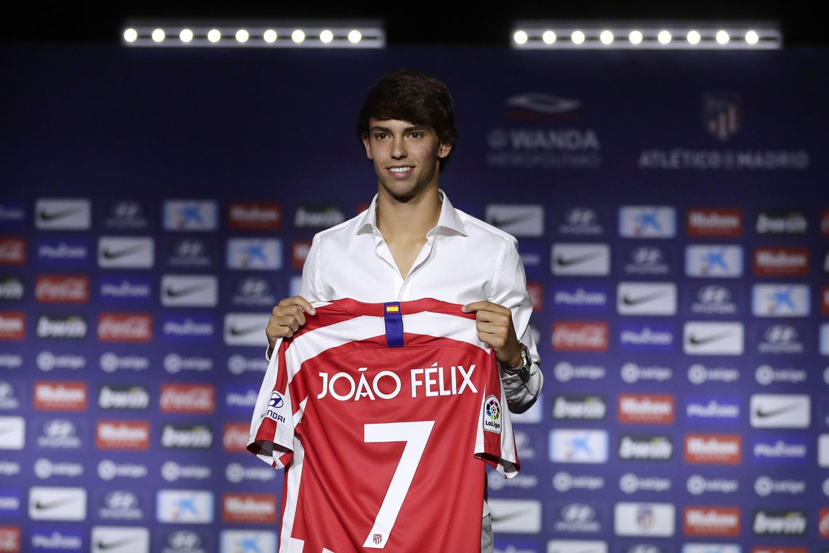 Photo of João Félix in the top 10 of the best players in Europe League