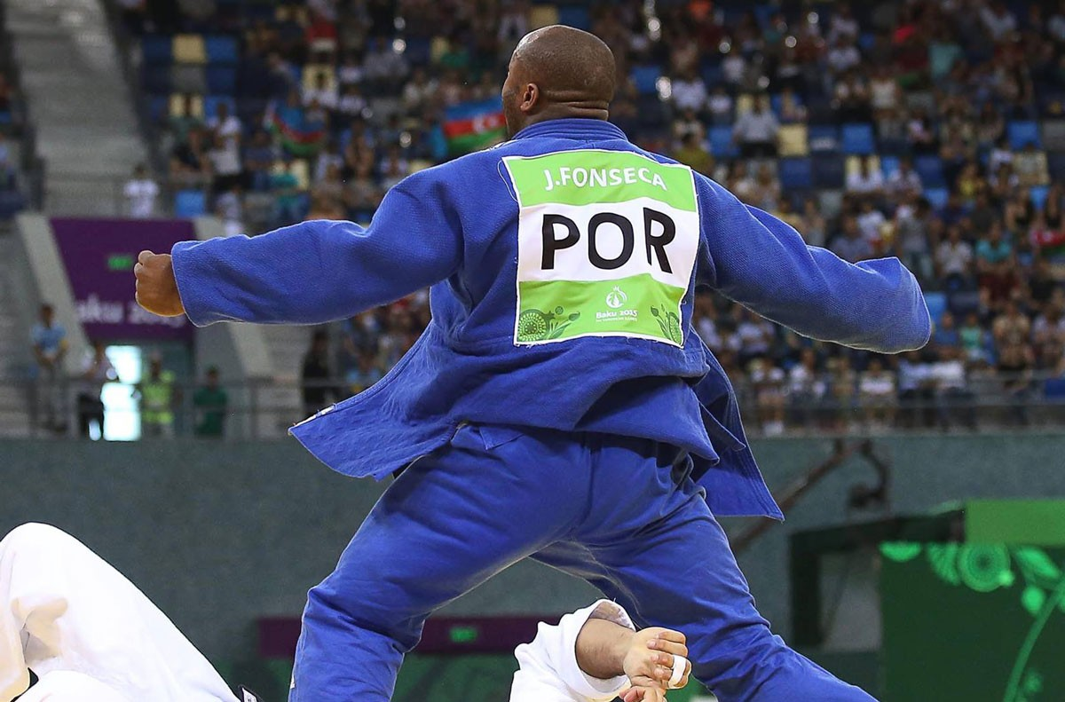 Photo of Jorge Fonseca and Patrícia Sampaio elected athletes of the year