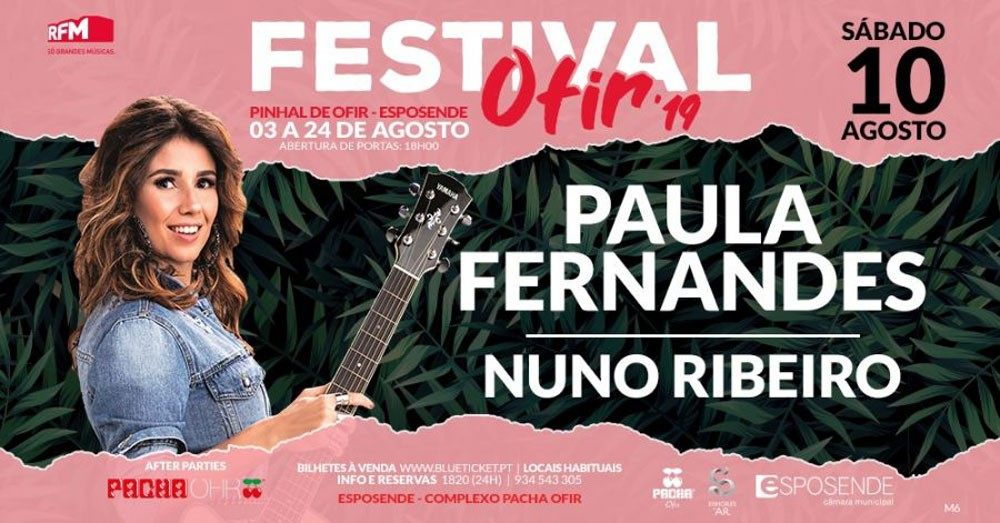 Photo of Festival Ofir – Paula Fernandes