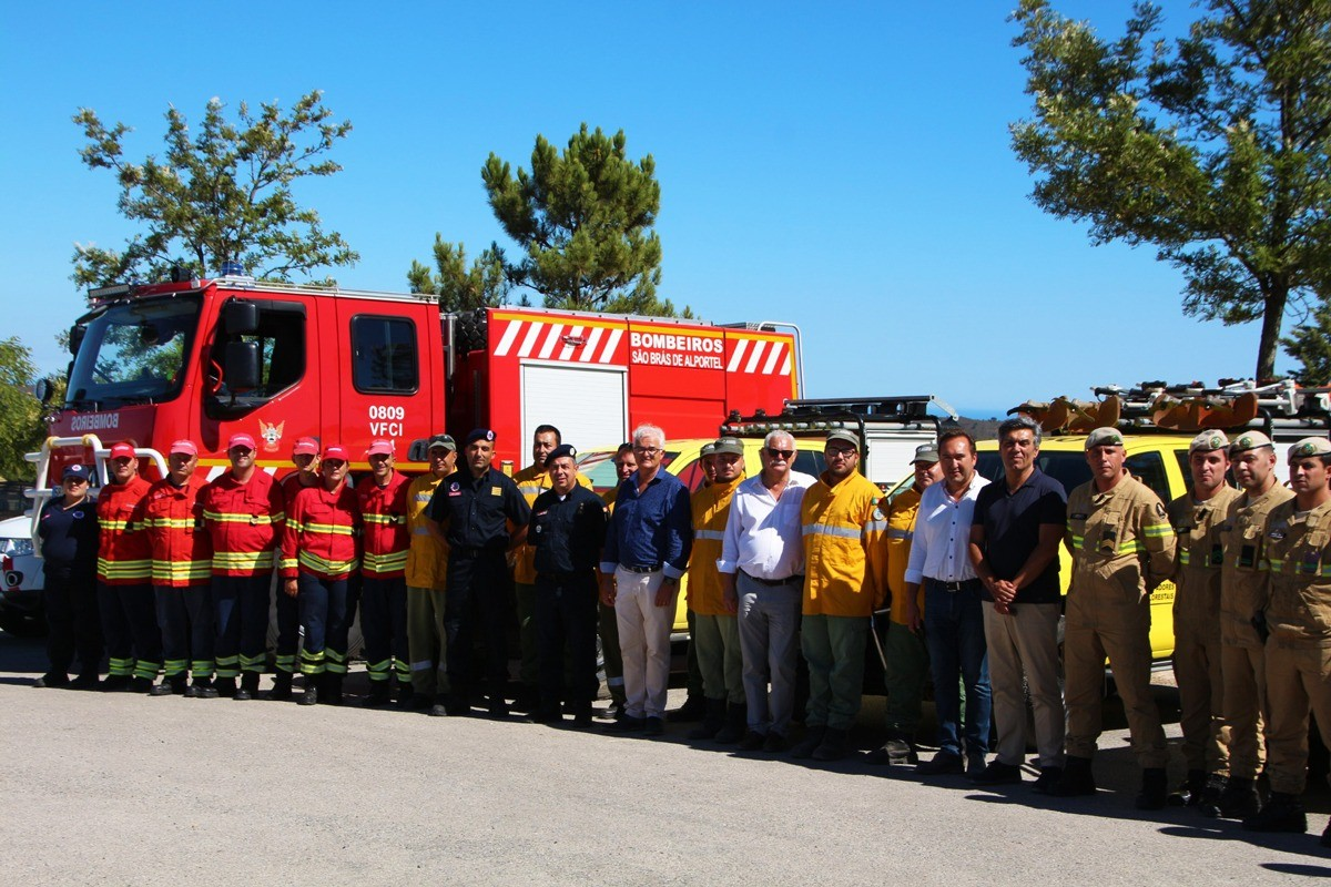 Photo of Secretary of State for Forests and Rural Development visited São Brás de Alportel to learn about fire prevention work