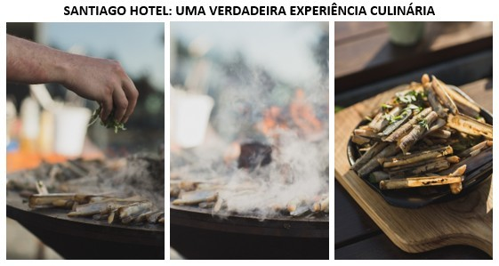Photo of A true culinary experience in Santiago Hotel