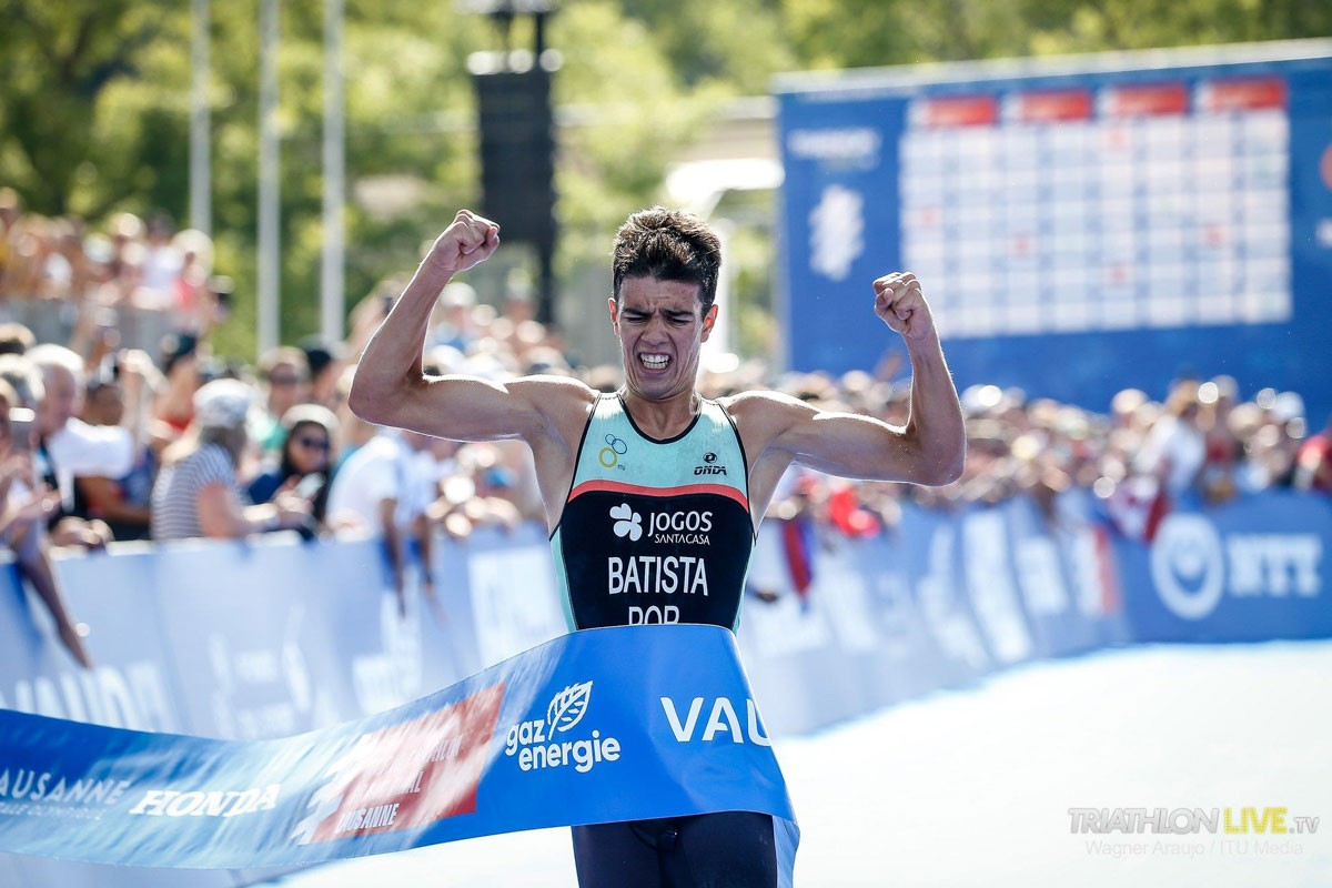 Photo of Ricardo Batista won world triathlon title in juniors