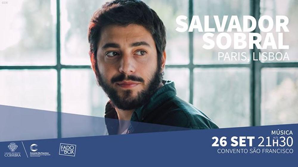 Photo of Salvador Sobral   Coimbra 🗓 🗺