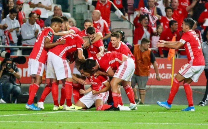 Photo of Benfica victory came from the bench