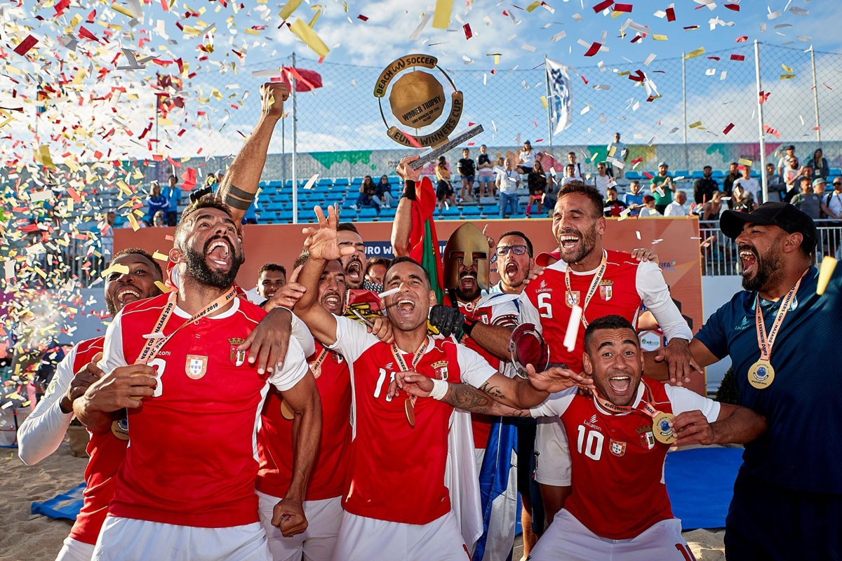 Photo of Sporting Braga becomes three-time national beach soccer champion