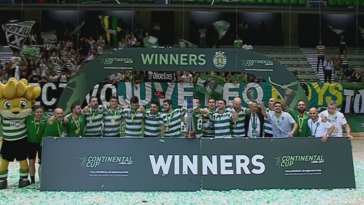 Photo of Sporting wins Continental Cup