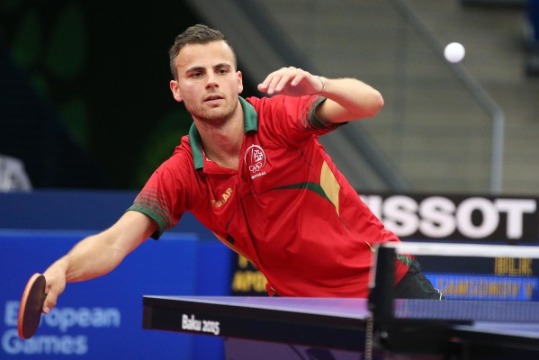 Photo of Portugal in men's European Table Tennis semi-finals