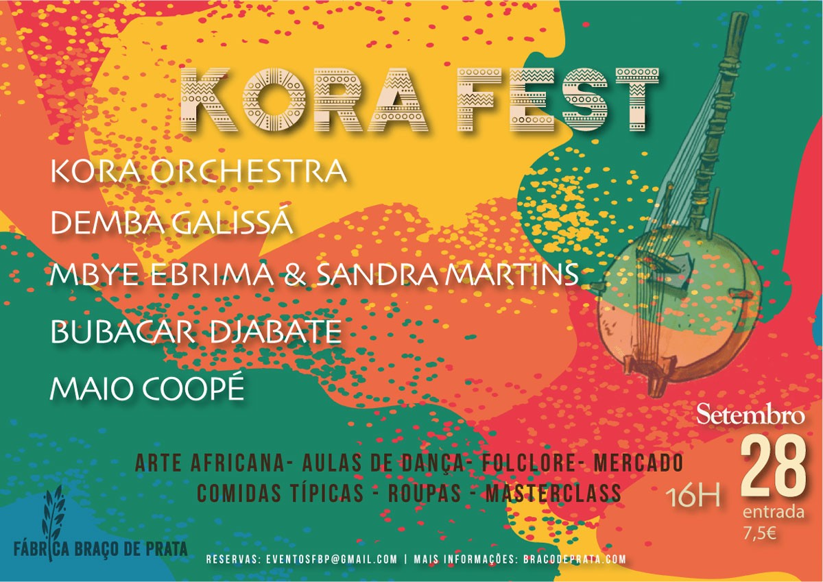 Photo of Braço de Prata Factory receives Kora festival