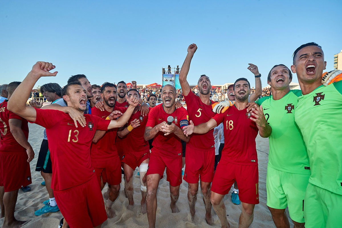 Photo of Portugal beats Russia and wins the European League in beach soccer