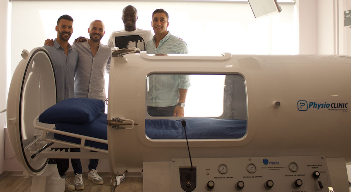 Photo of First clinic with individual hyperbaric oxygenation chamber inaugurated in Porto