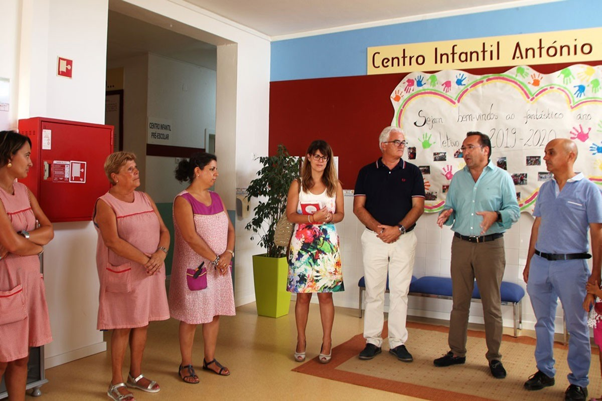 Photo of São Brás de Alportel Municipal Executive visits daycare centers at the beginning of the school year