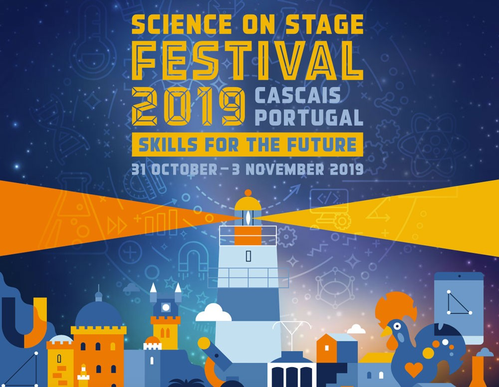 Photo of Science on Stage festival 2019 in Portugal