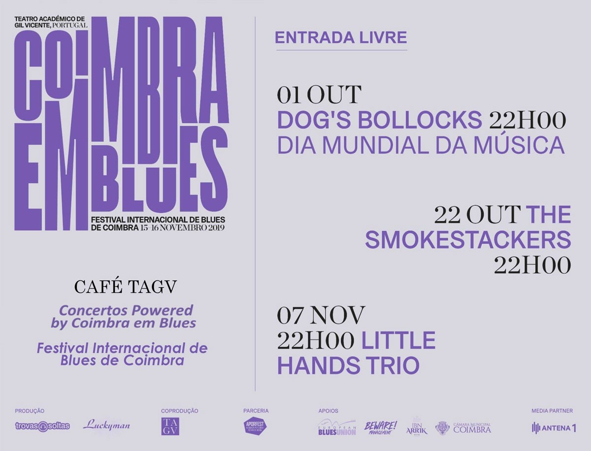 Photo of Coimbra em Blues | the Blues return to TAGV