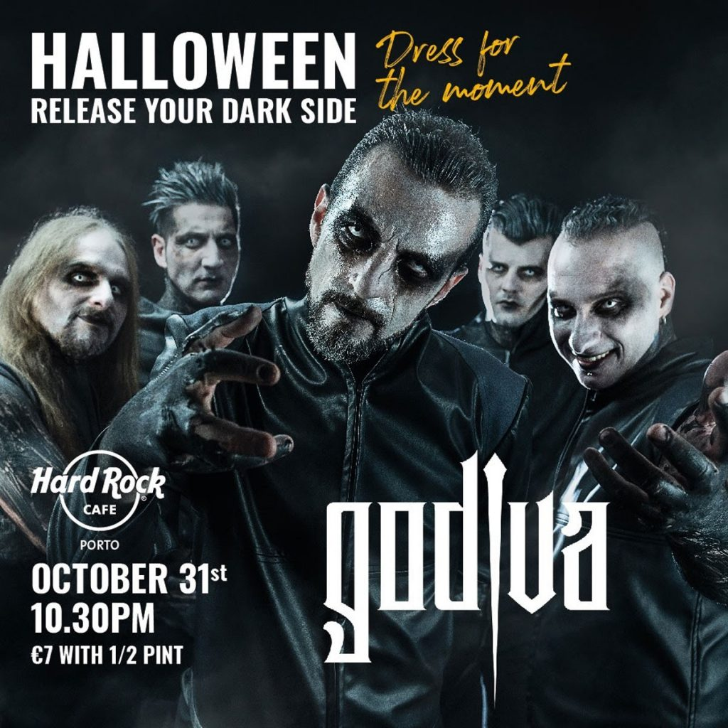 Photo of The Godiva announce EXCLUSIVE concert at Halloween special at Hard Rock Café Porto