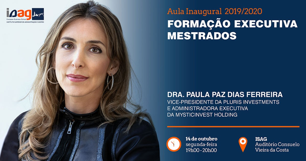 Photo of ISAG welcomes Paula Paz Dias Ferreira to inaugural Executive Training class