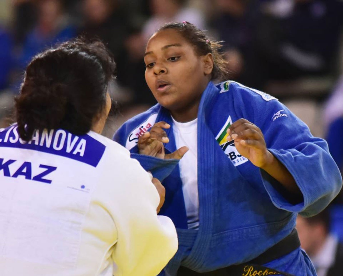 Photo of Rochele Nunes wins bronze medal in Paris Grand Slam