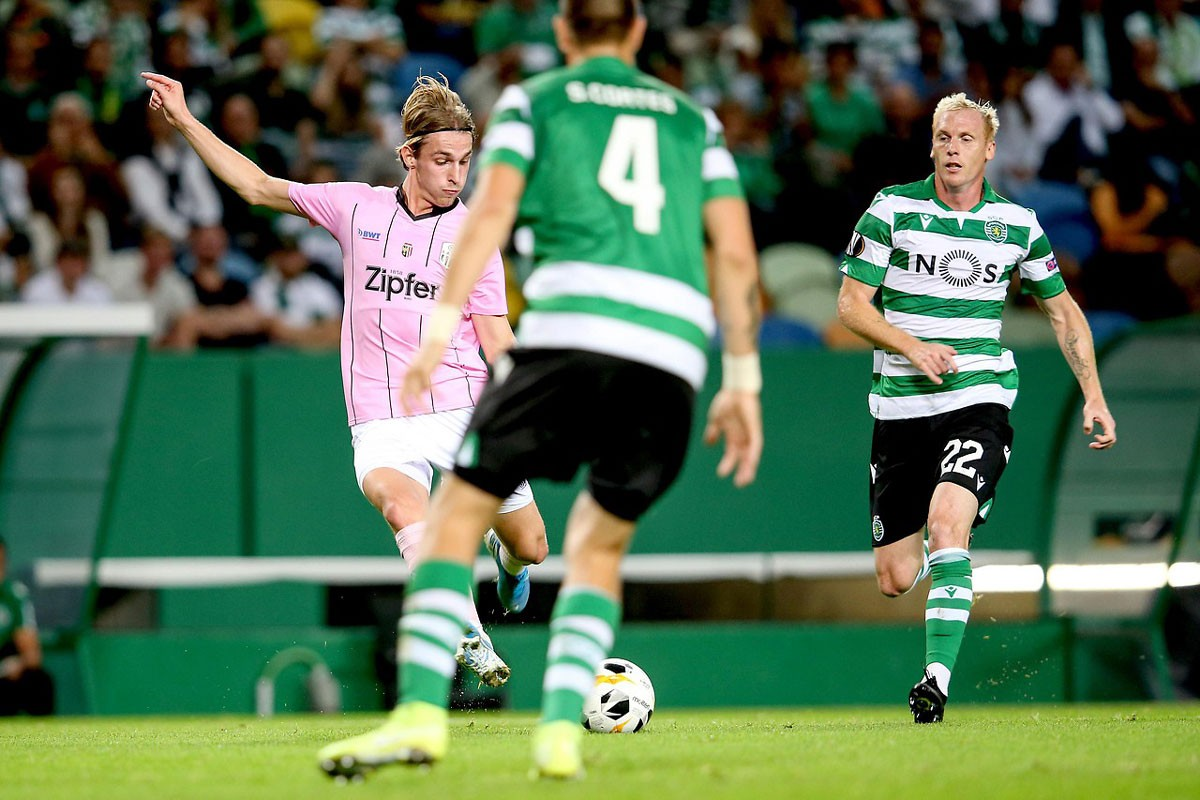 Photo of Sporting wins again. This time against LASK