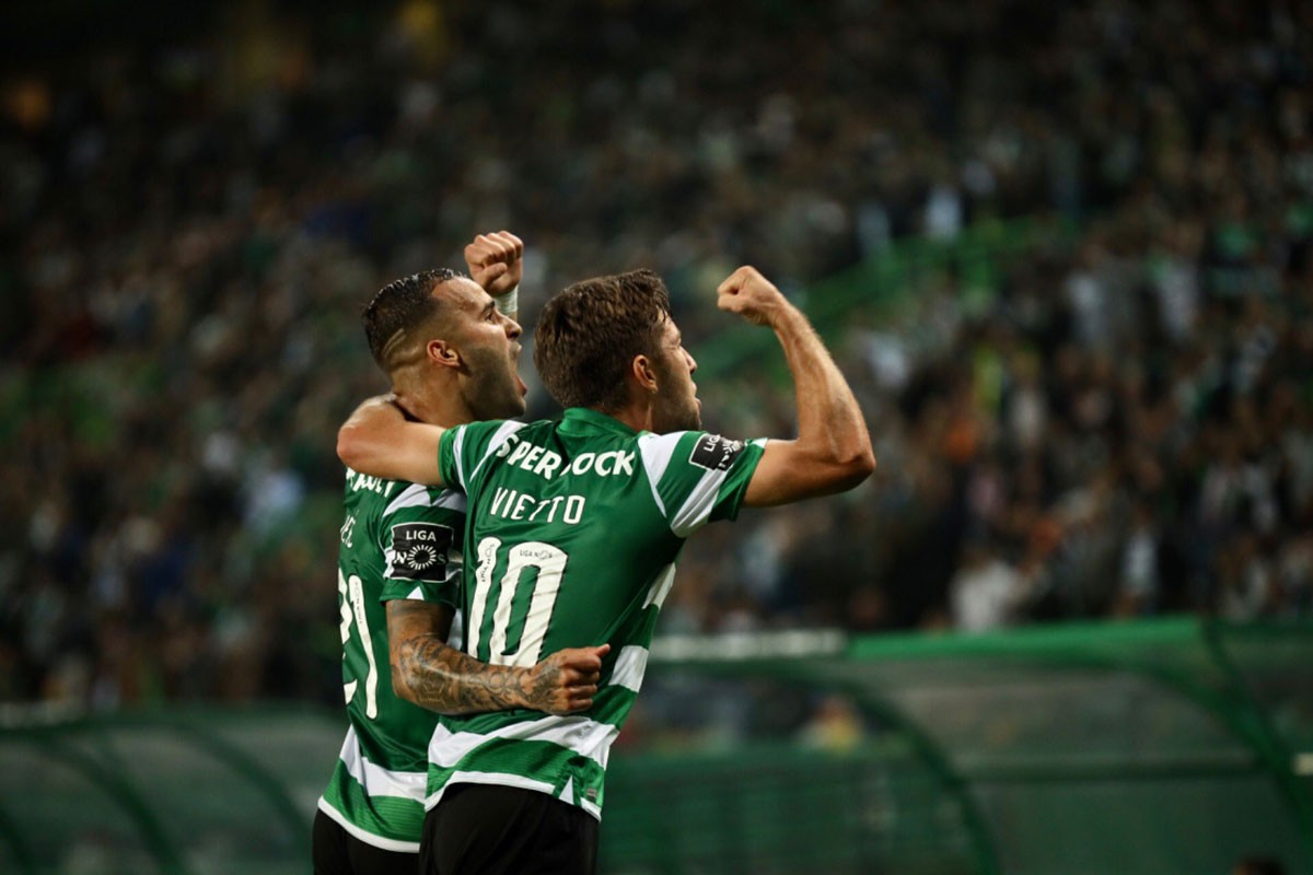 Photo of Sporting beats Vitória SC