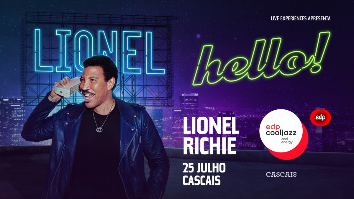 Photo of Lionel Richie confirmed at EDPCoolJazz 2020