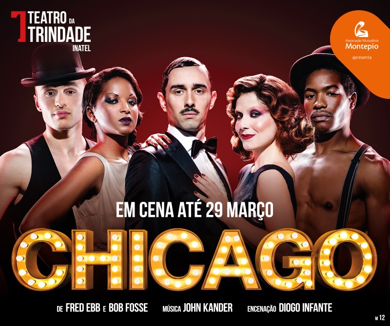 Photo of Chicago on stage until March 2020