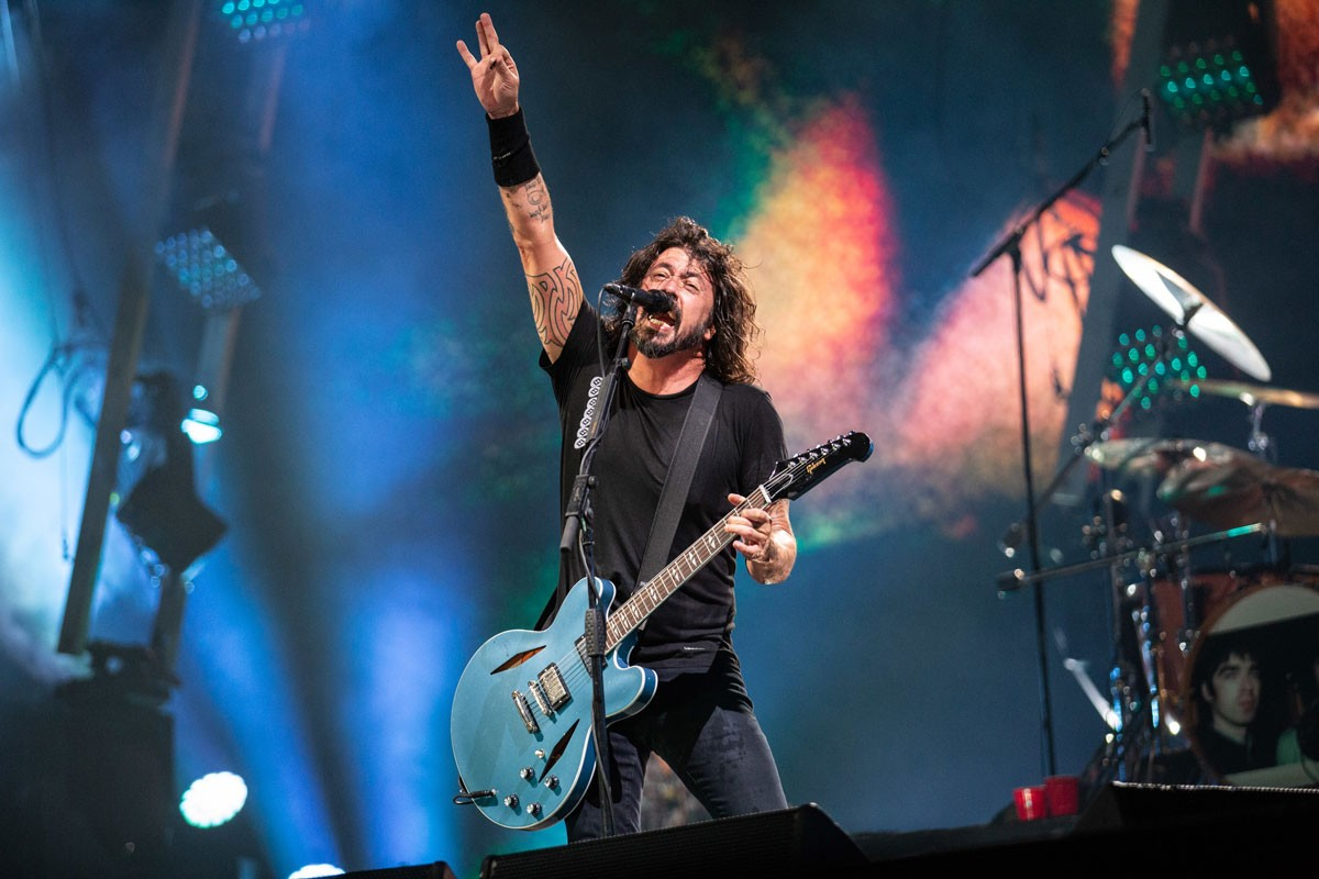 Photo of Foo Fighters Celebrate 25 Years at Rock in Rio Lisboa