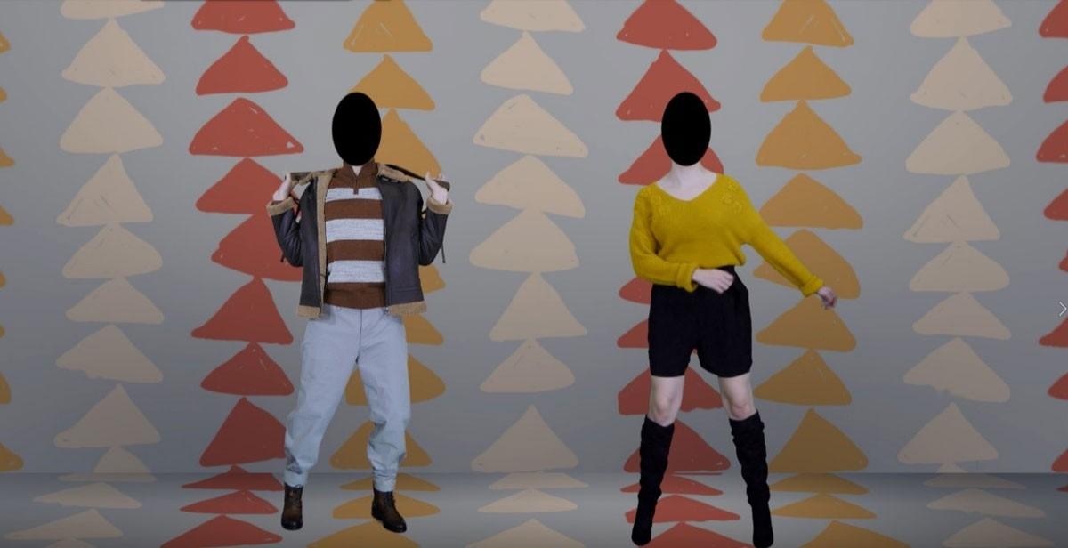 Photo of LoureShopping creates video mapping fashion catalog
