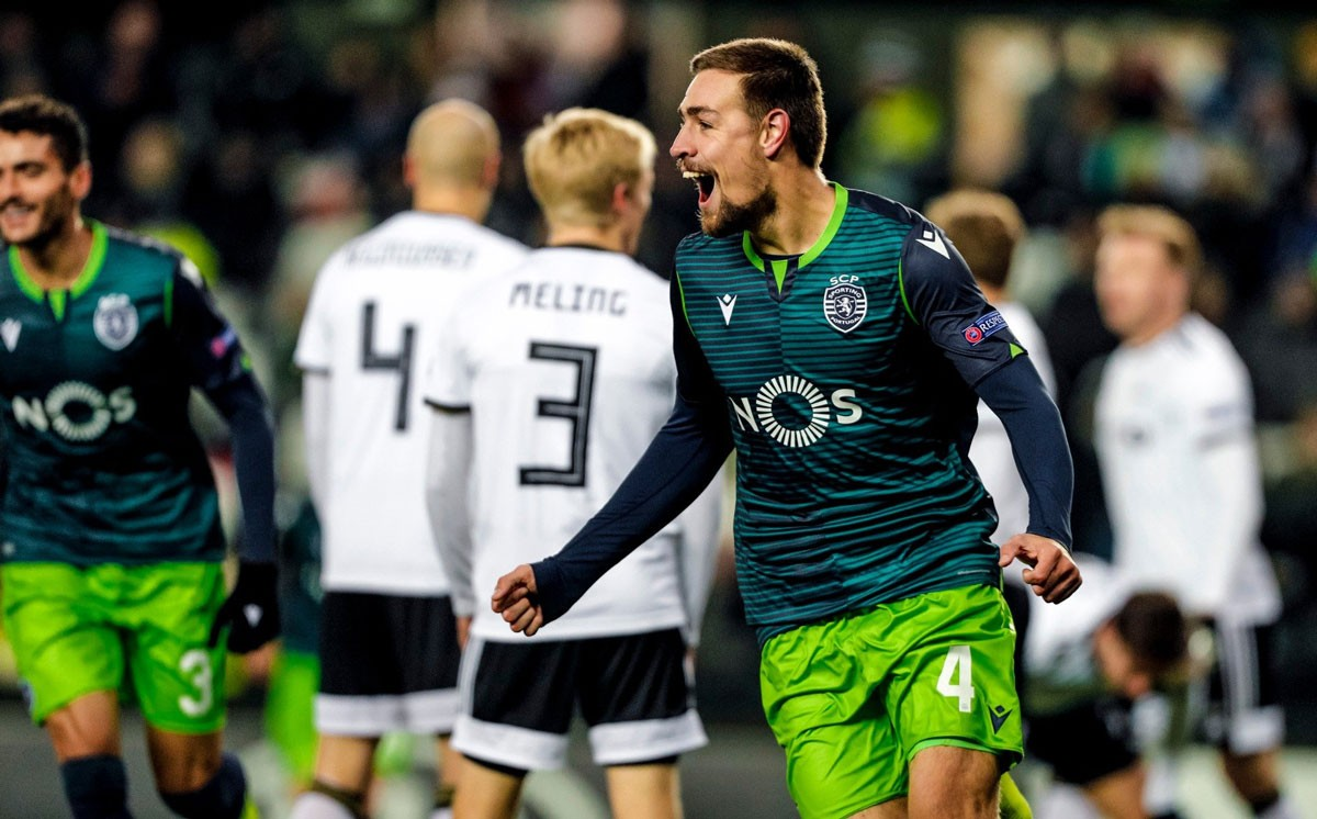 Photo of Sporting came out happy after the encounter with Rosenborg