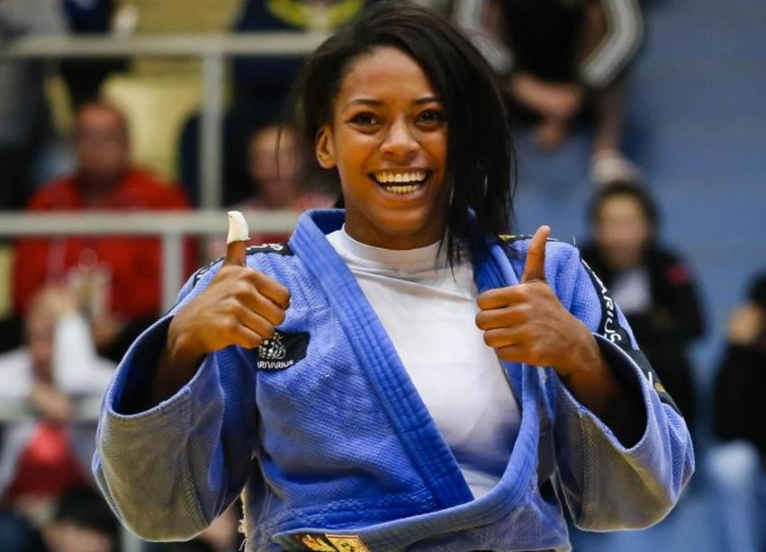 Photo of Bronze for Wilsa Gomes in the judo under-23 Europeans