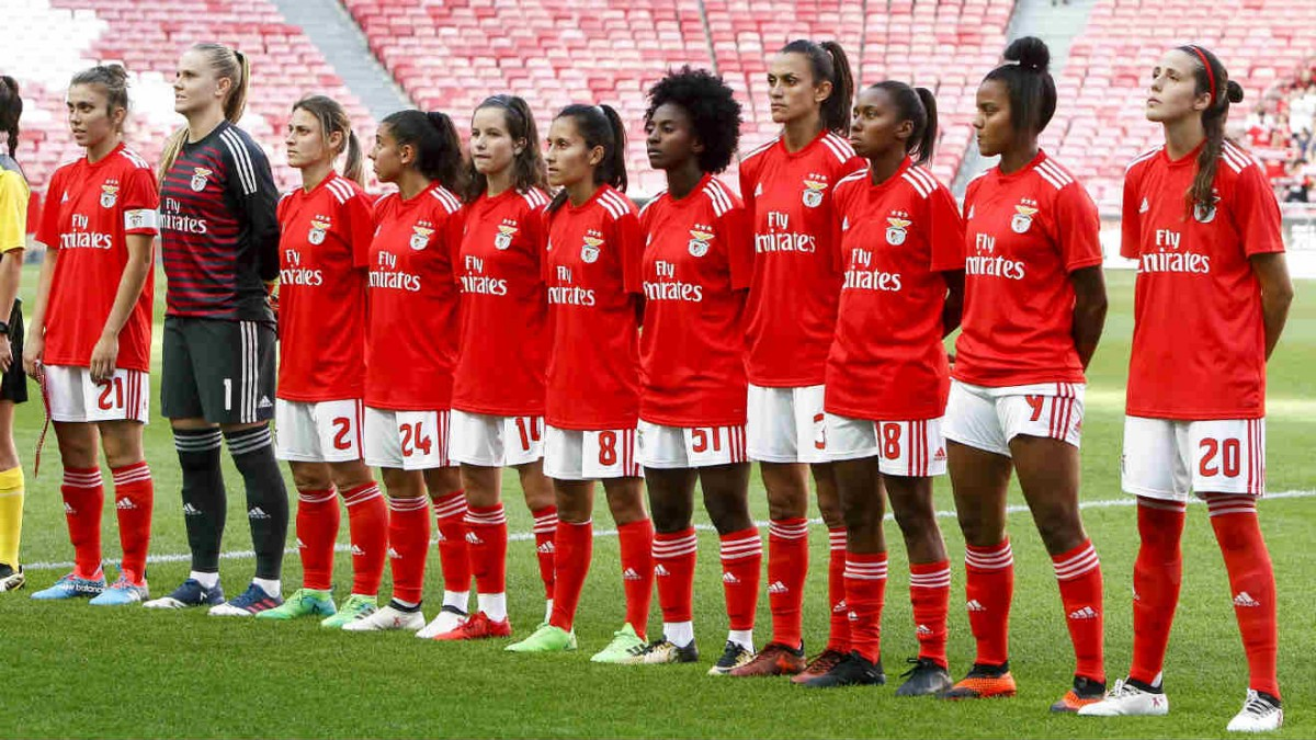 Photo of Benfica women's team win again
