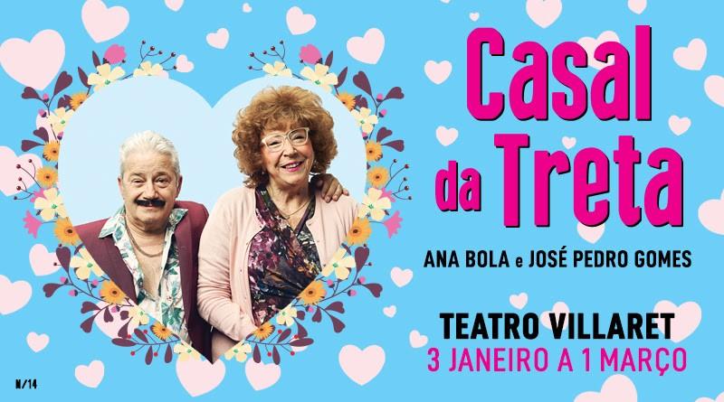 Photo of Casal da Treta back on stage in 2020