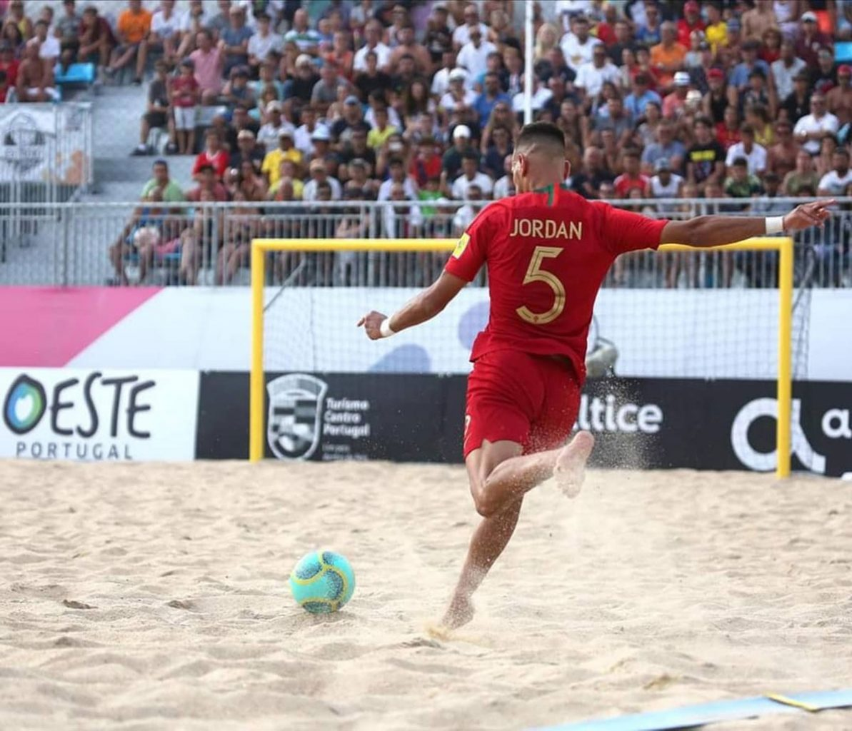 Photo of Jordan is the best beach soccer player in the world