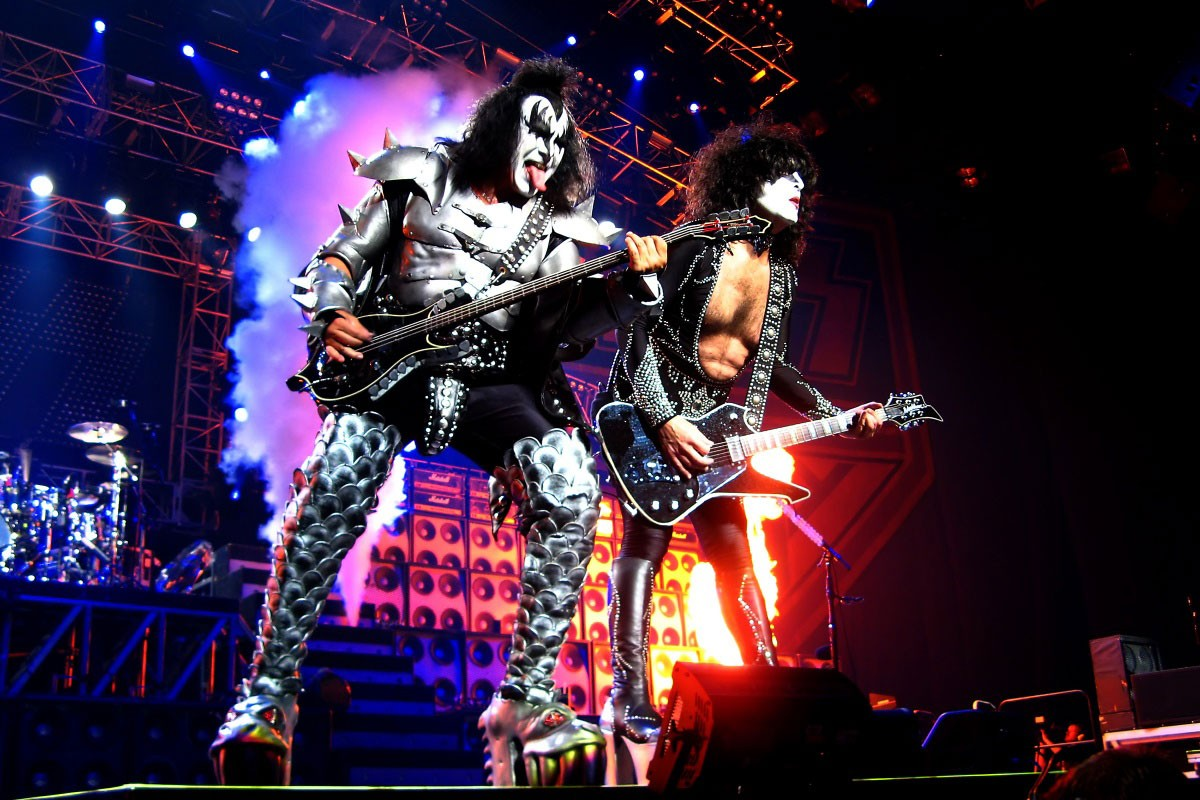 """Photo of KISS bid farewell to the stages and bring up to Portugal their last tour """"END OF THE ROAD"""" July 7th in Lisbon"""