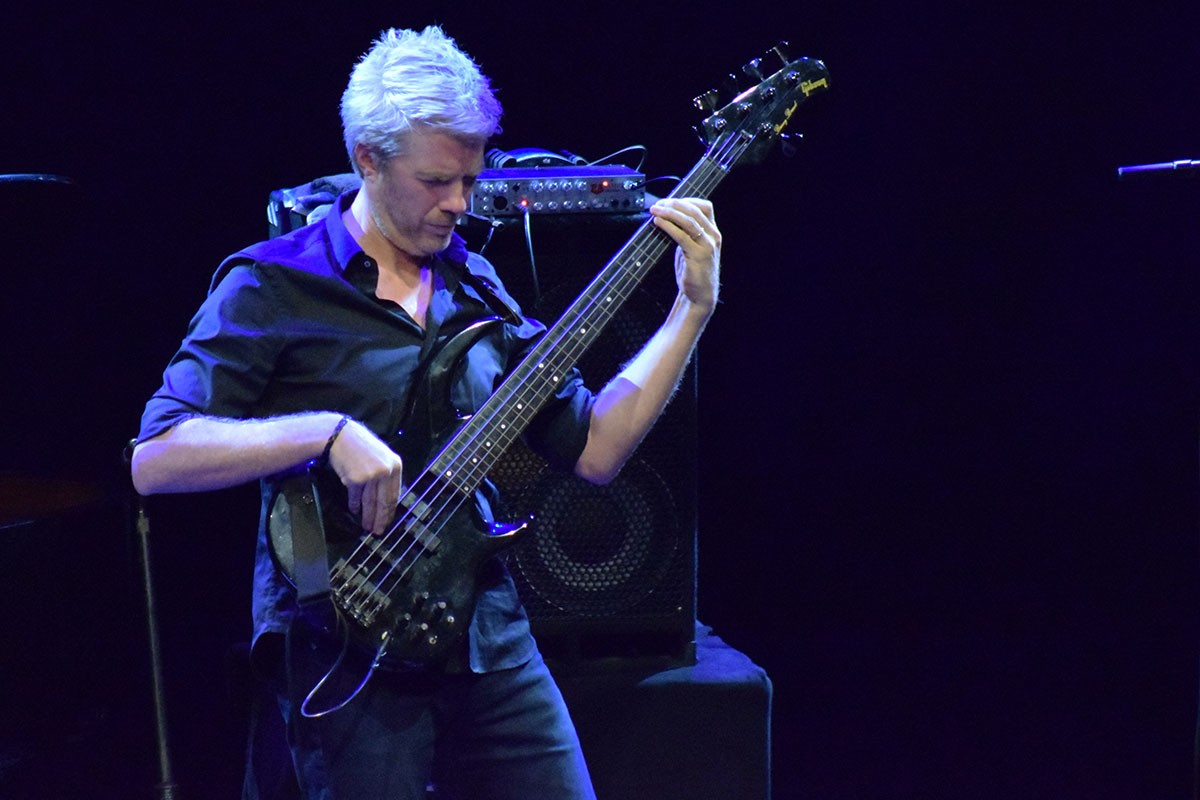 Photo of Kyle Eastwood at Misty Fest