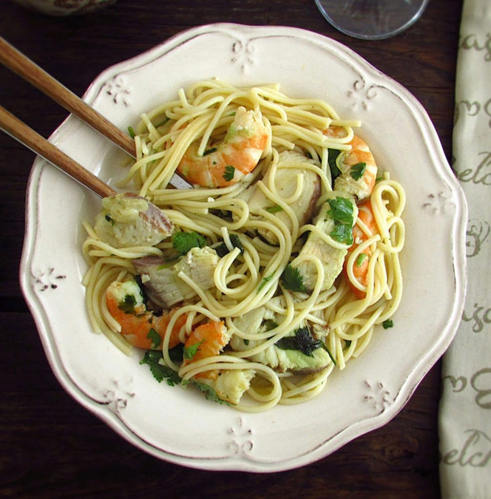 Photo of Recipes | Spaghetti with dogfish and shrimp