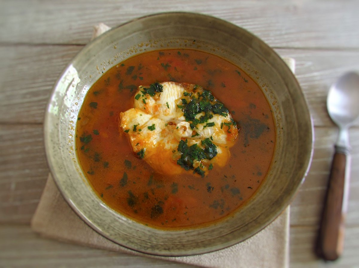 Photo of Recipes | Tomato soup with dogfish