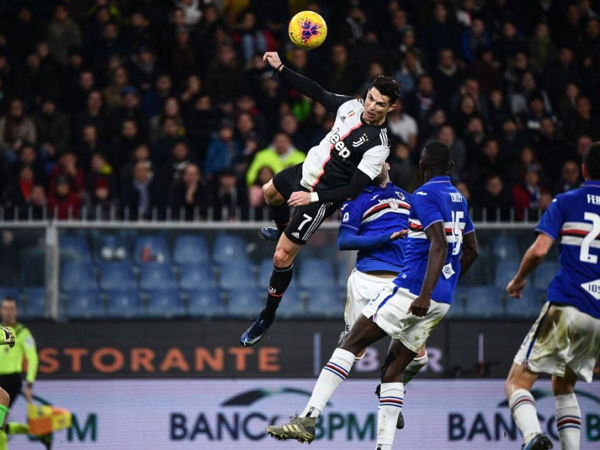 Photo of Cristiano Ronaldo flies and takes Juventus to victory