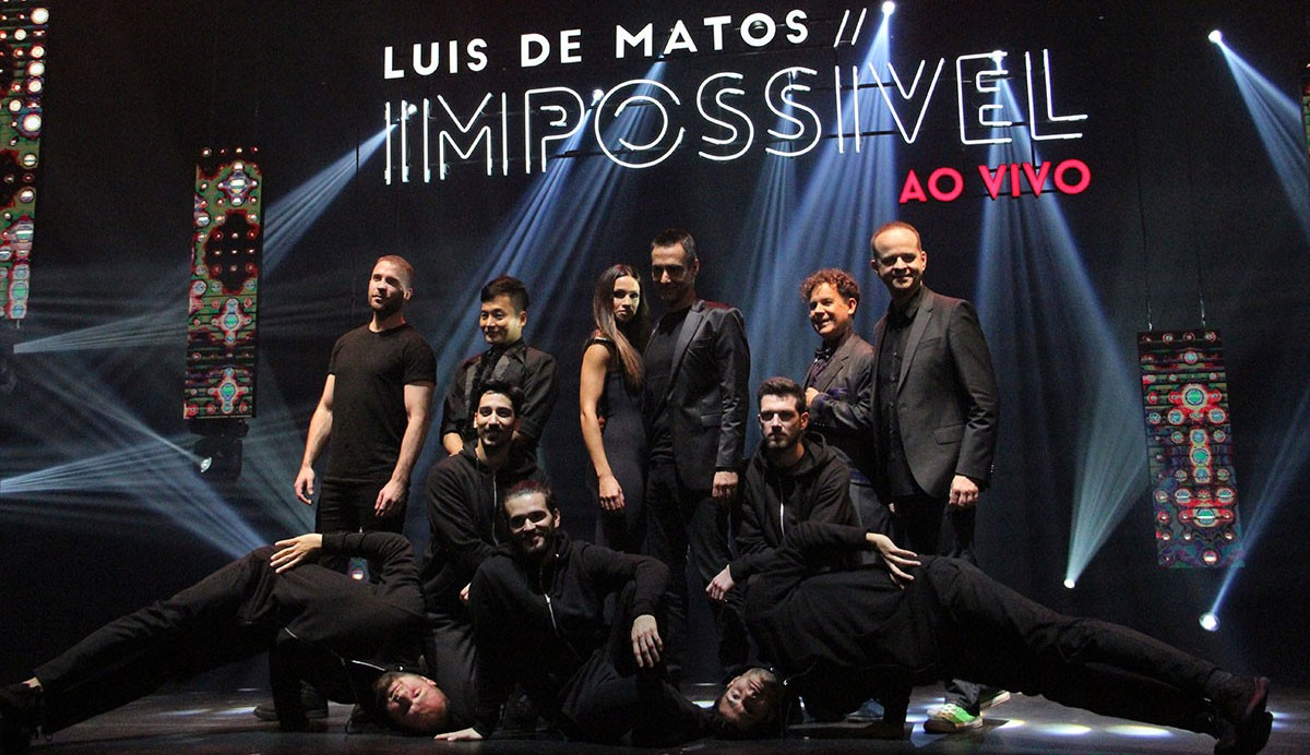 "Photo of ""Luís de Matos – Impossível ao Vivo"" starts today in Teatro Tivoli BBVA"