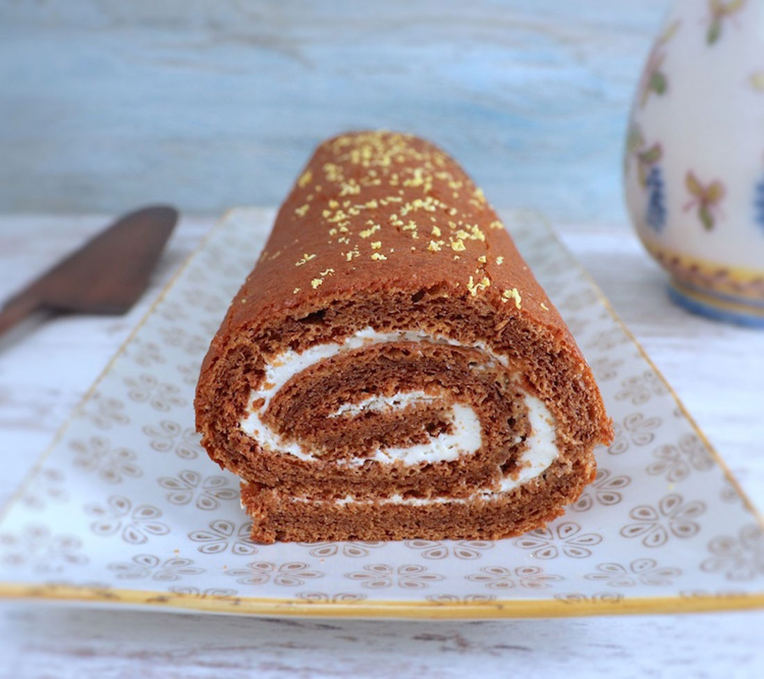 Photo of Roll cake filled with whipped cream | Recipes