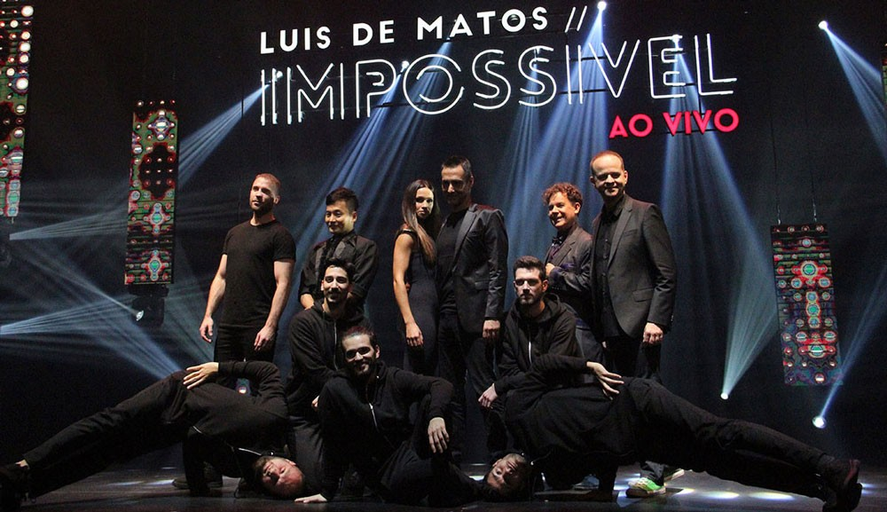 "Photo of Luis de Matos – ""Impossivel ao Vivo"" | Faro"
