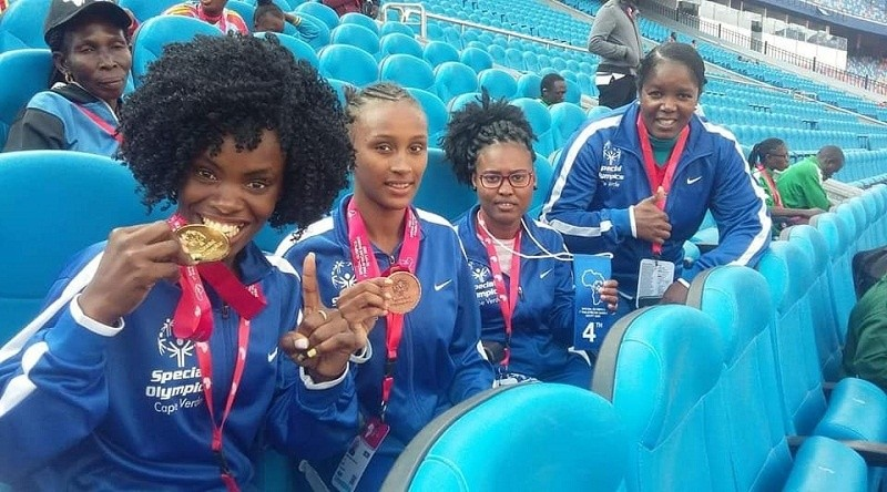 Photo of Cape Verde wins two gold and two bronze medals at the 1st Pan-African Special Olympics Games