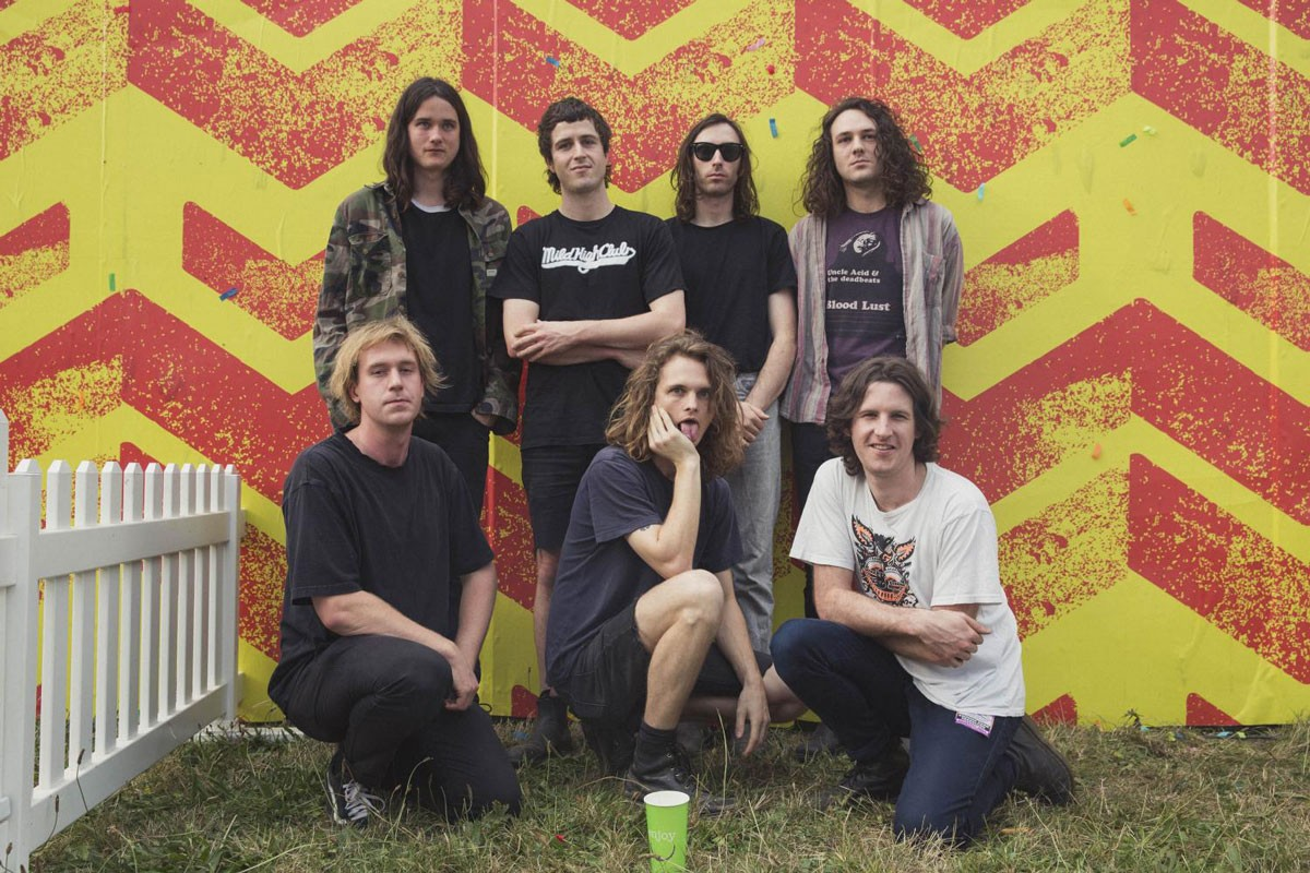 Photo of King Gizzard & The Lizard Wizard Perform at Super Bock Super Rock