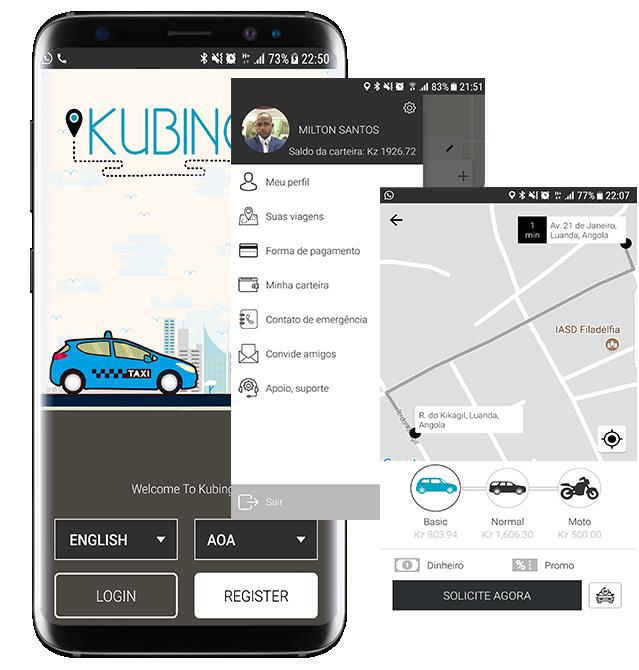 Photo of Kubinga – Angolan start-up for online transport