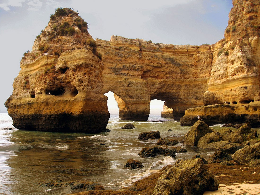 Photo of Praia da Marinha – The beach