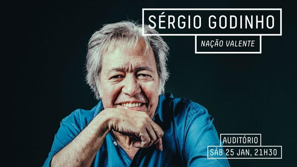 Photo of Sérgio Godinho | Nação Valente