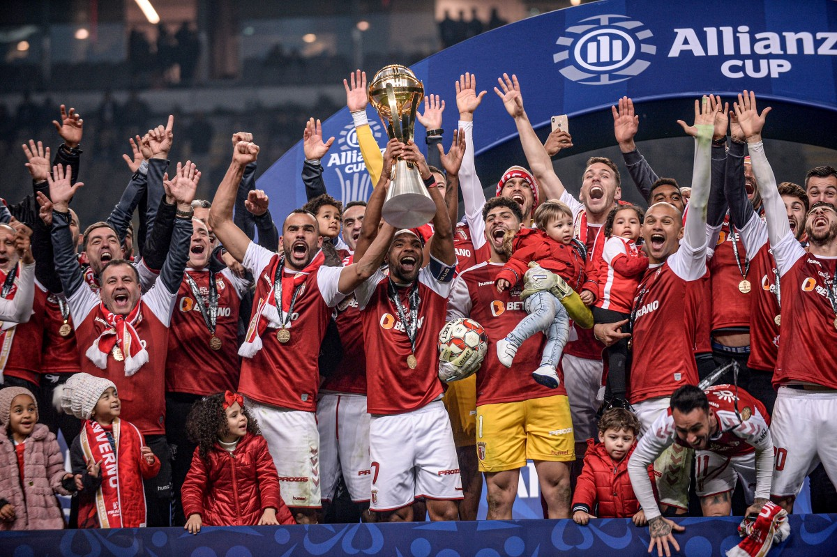 Photo of Sp. Braga wins the League Cup